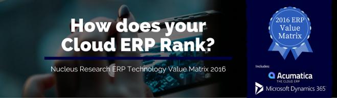 Cloud ERP Rankings