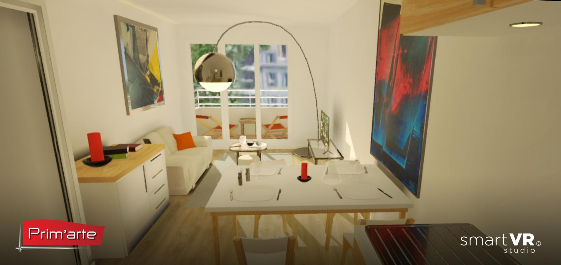 Prim arte bienvenue chez vous en r alit virtuelle for Agence chez vous