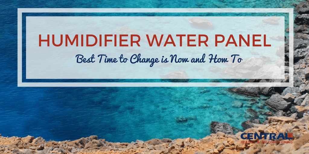 Humidifier Water Panel - Best Time to Change is Now and How To