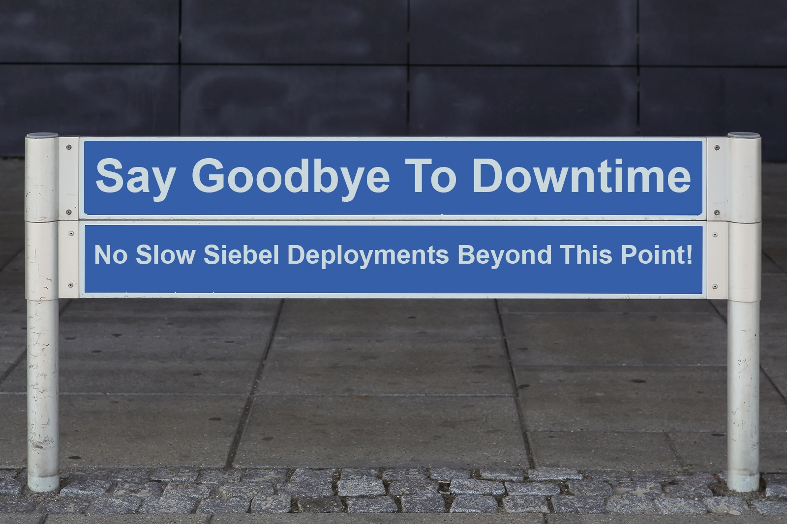 Announcing Zero Downtime for Siebel
