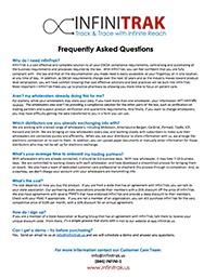 INFINITRAK FAQ