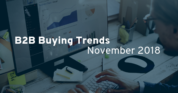 B2B Buying Trends For November 2018