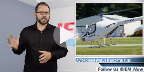 Video: Autonomous Airbus Helicopter Flies For The First Time