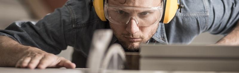manufacturer wearing eyewear