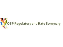 OSP Regulatory and Rate Summary