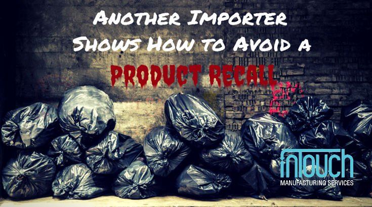 how to avoid product recall
