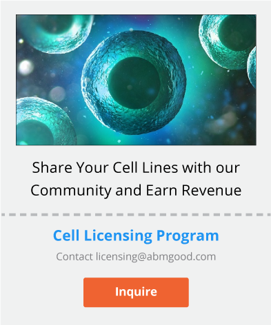 Attractive licensing agreements for your cell lines