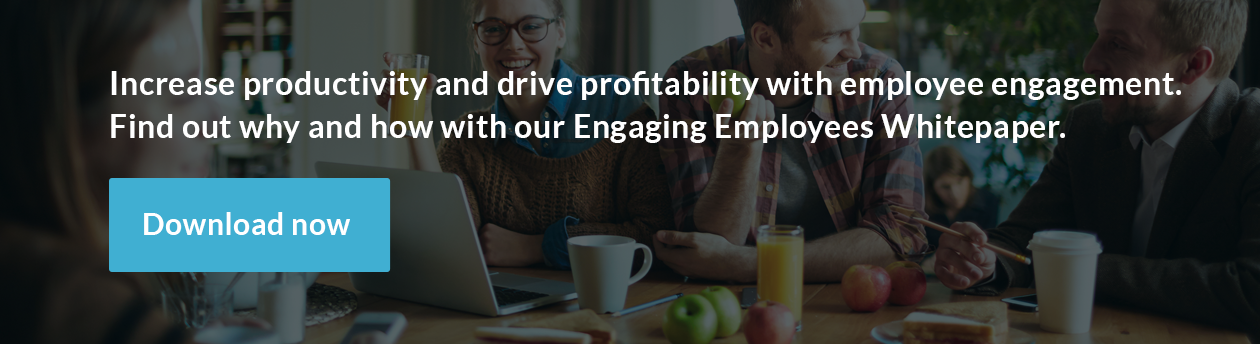 Increase productivity and drive profitability with employee engagement. Learn why and how now.