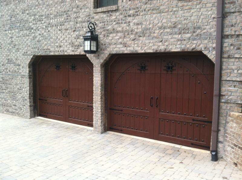 speakeasy window grilles gives your door a medieval look - Garage Door Decorative Hardware