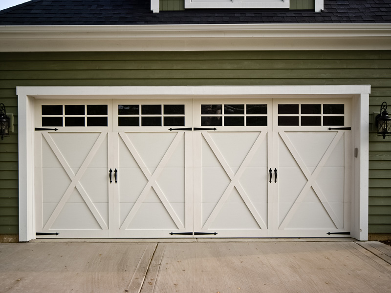 5 unique garage door designs