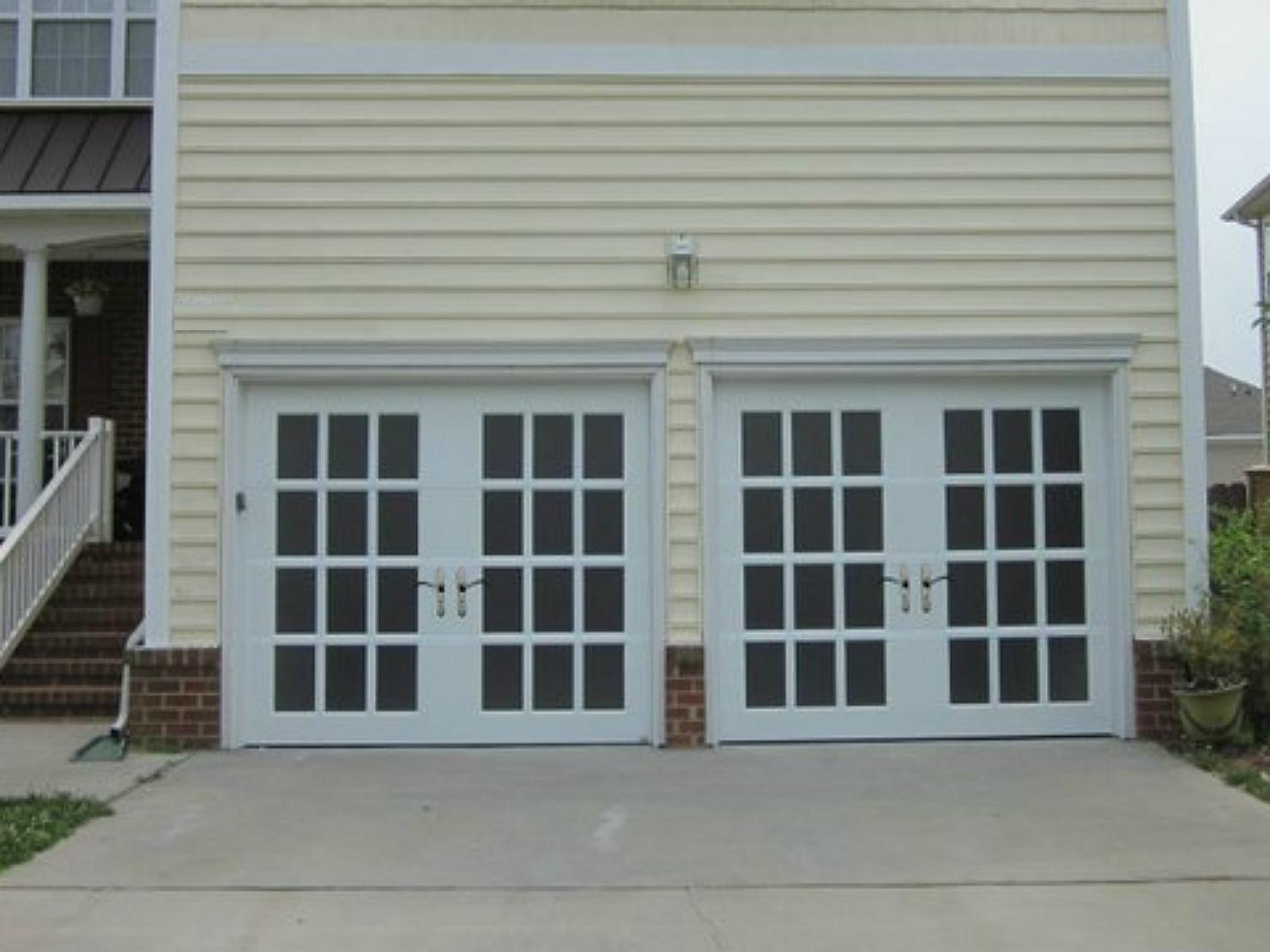 French Door Garage Doors
