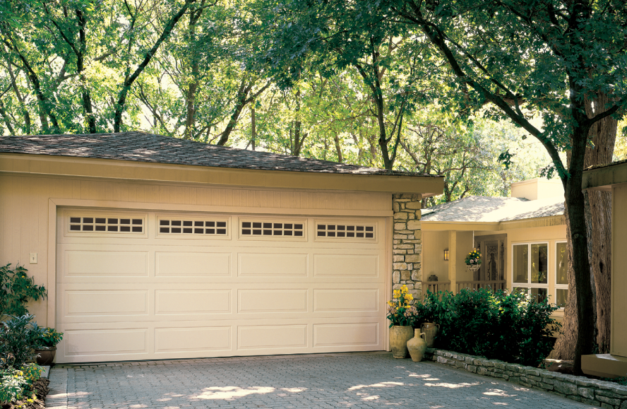 Garage Door Traditional Steel : hardboard garage door - pezcame.com