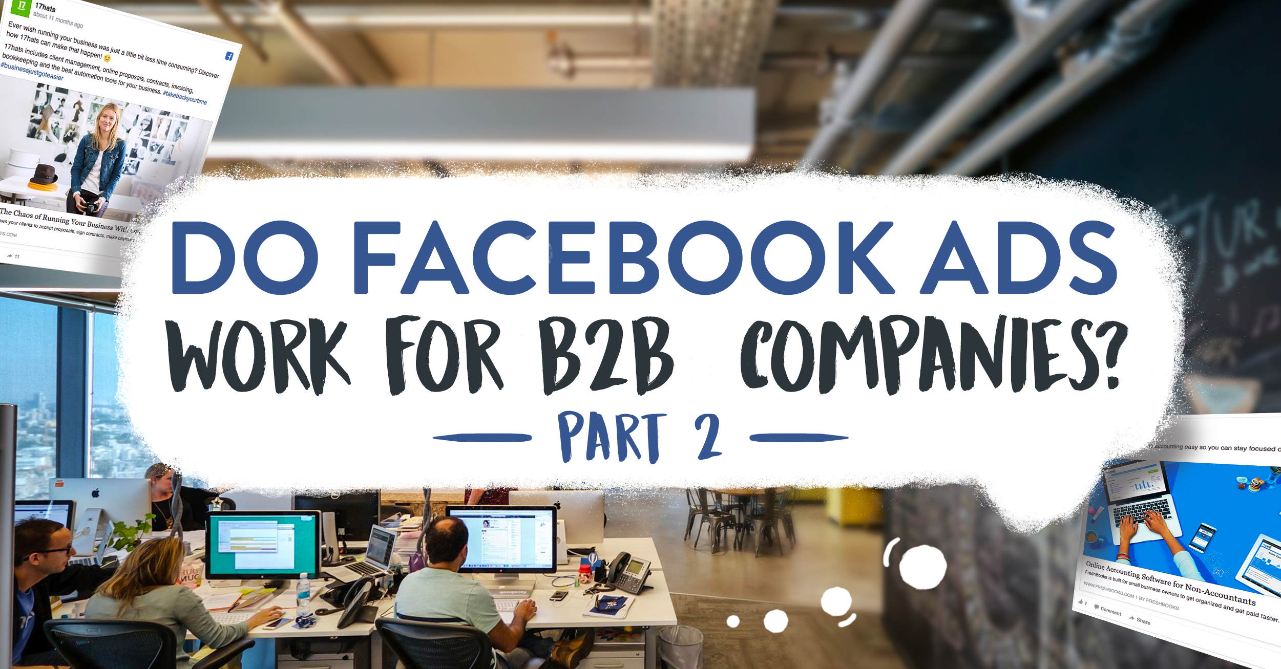 Facebook Ads for B2B Companies