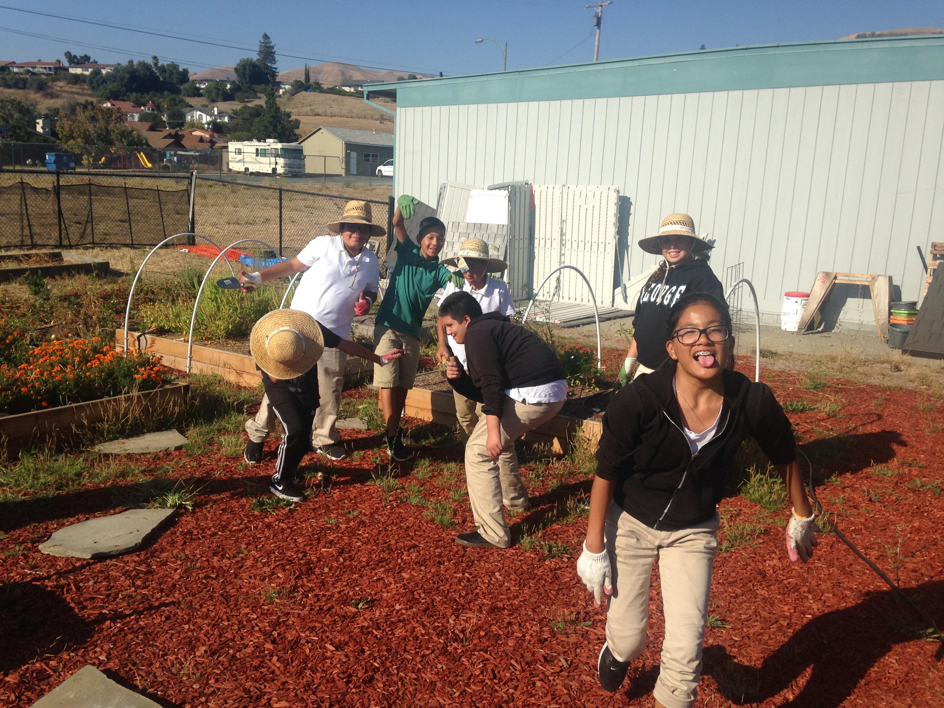 Garden Classroom at Joseph George Middle School, San Jose