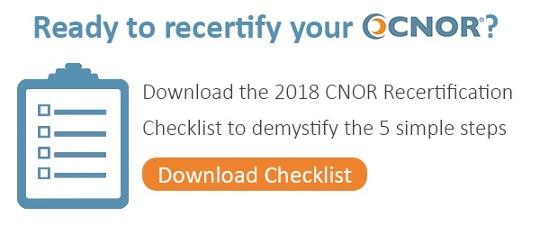 CNOR Recertification