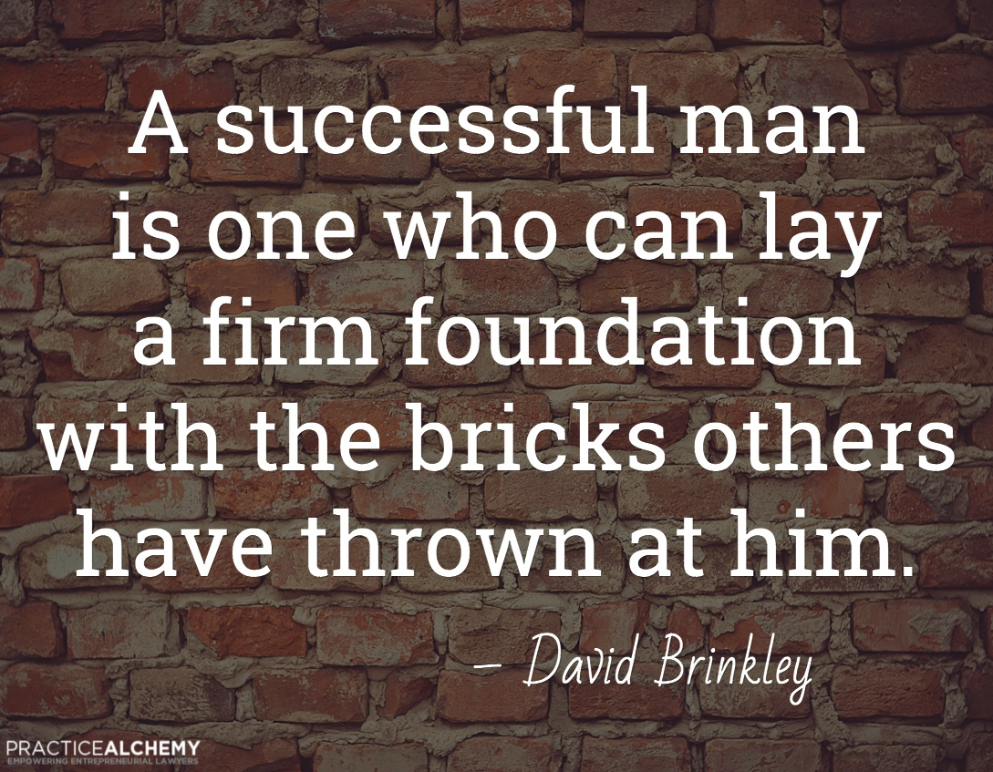 david brinkley inspirational quotes for lawyers