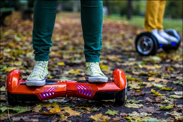 Got a New Hoverboard? Exercise with Caution