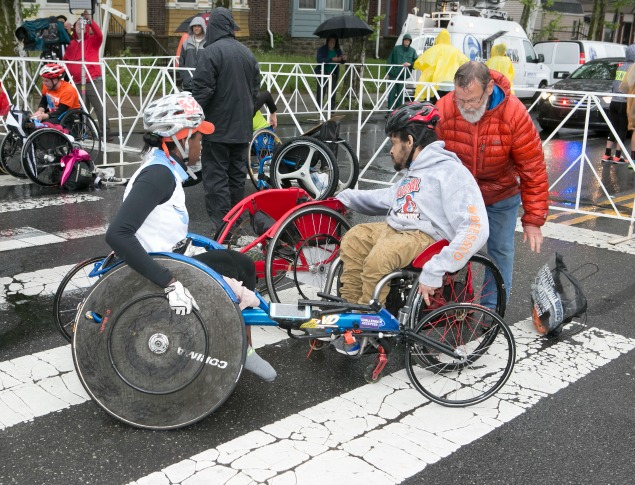 Hard-Fought Broad Street Run Wheelchair Victory Illustrates One Family's Winning Ways