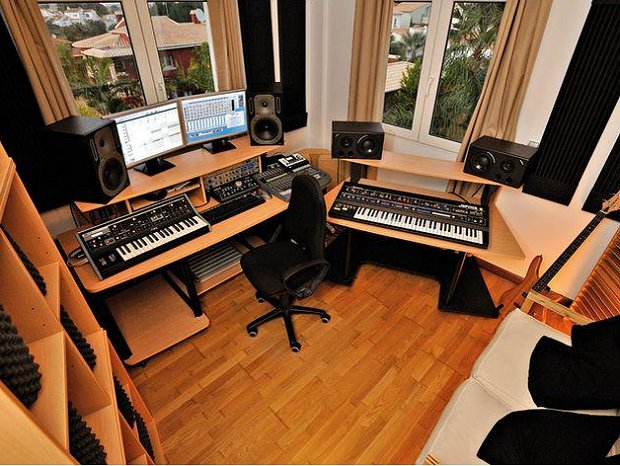 Swell How To Record A Full Band At Home With Limited Space And Equipment Largest Home Design Picture Inspirations Pitcheantrous