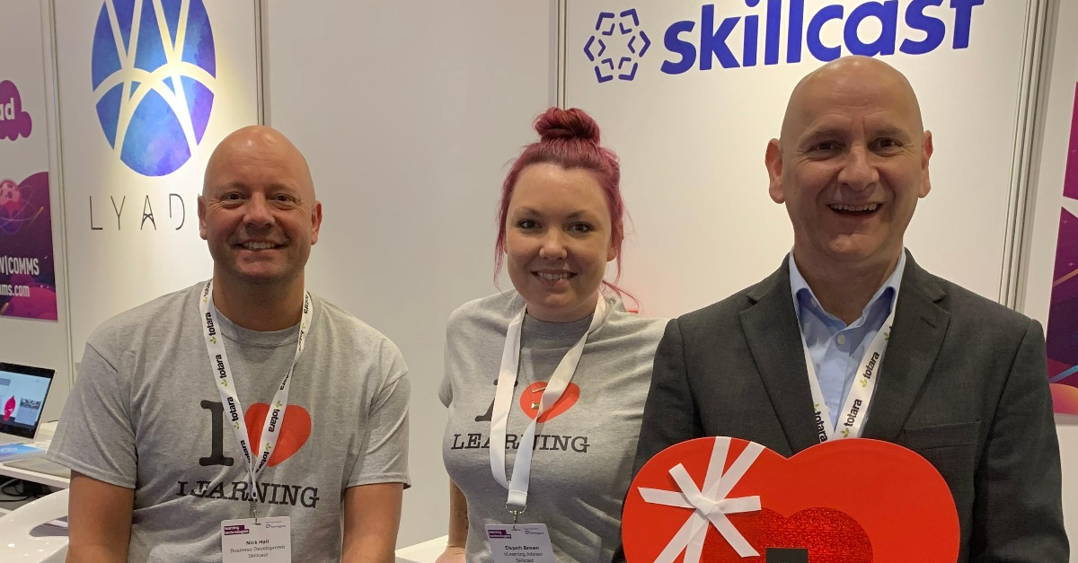 Skillcast at Learning Technologies 2020
