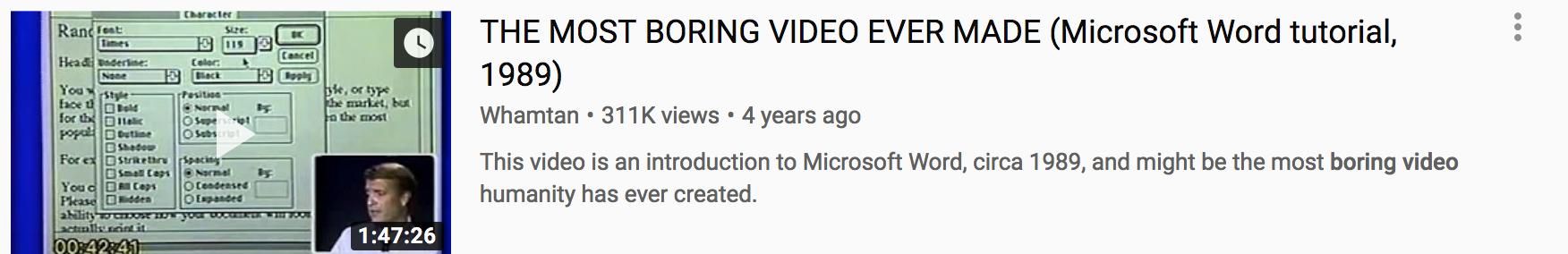 YouTube SEO.