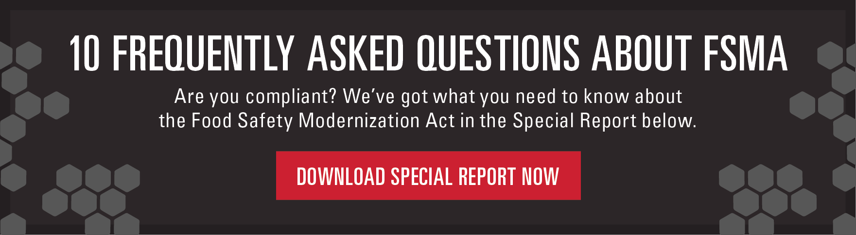 frequently asked questions about the food safety modernization 10 frequently asked questions about fsma