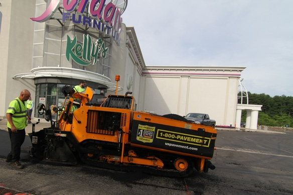 U S Pavement Services And Jordan S Furniture Paving Project