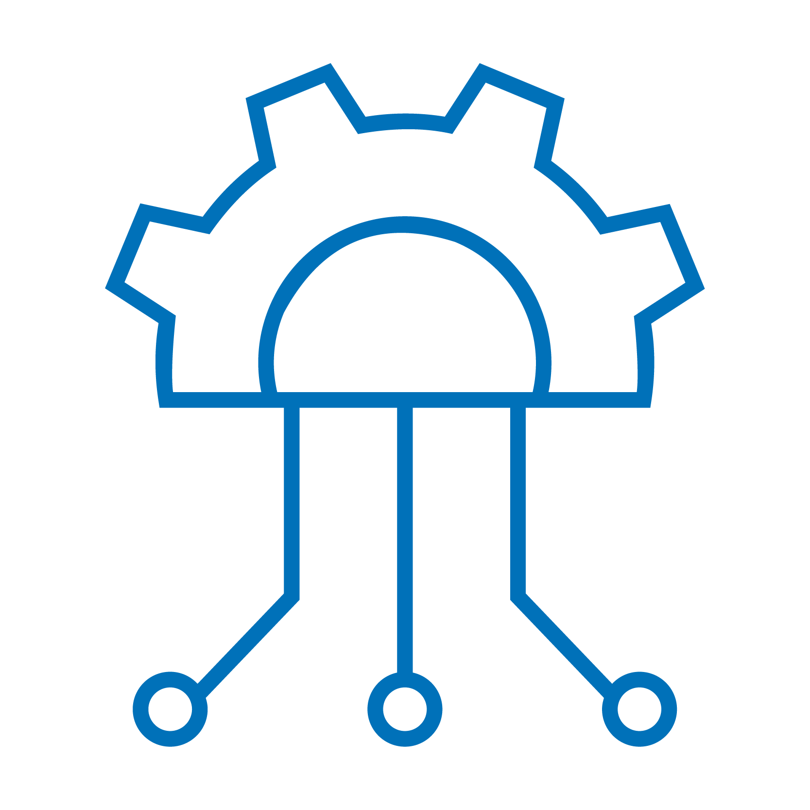 Transitioning Connectivity Technologies Icon