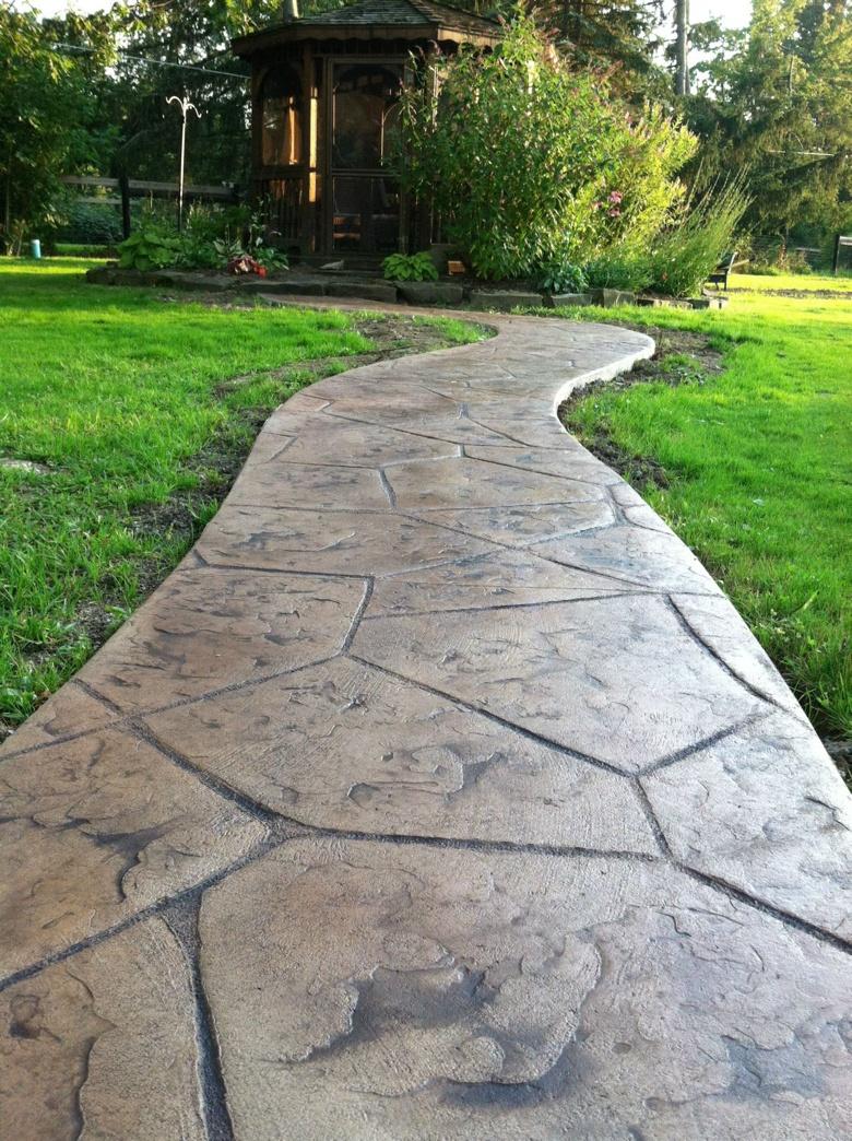 Stamped Concrete Gallery Wickliffe Ohio Free Estimates Quality Work