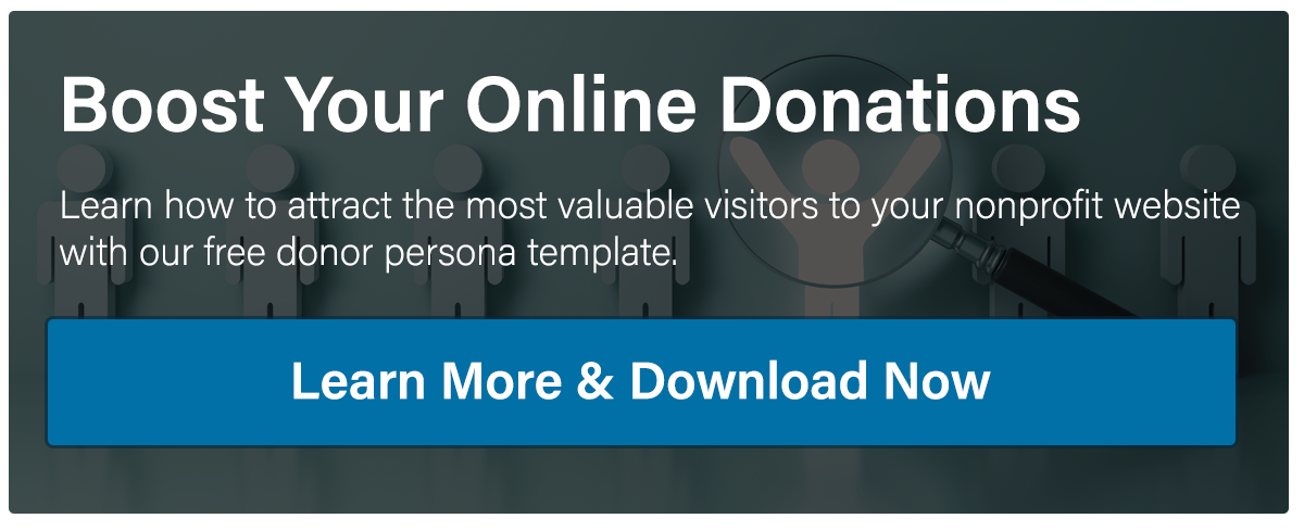 A Nonprofit\'s Guide to Creating Donor Persona Profiles - Image in a Box