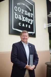 Gary Price Corner Bakery Sustainability Award