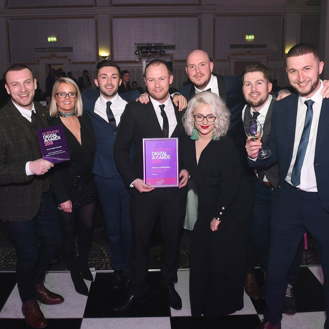 Big Brand Ideas and Trunk take the Northern Digital Awards by storm!