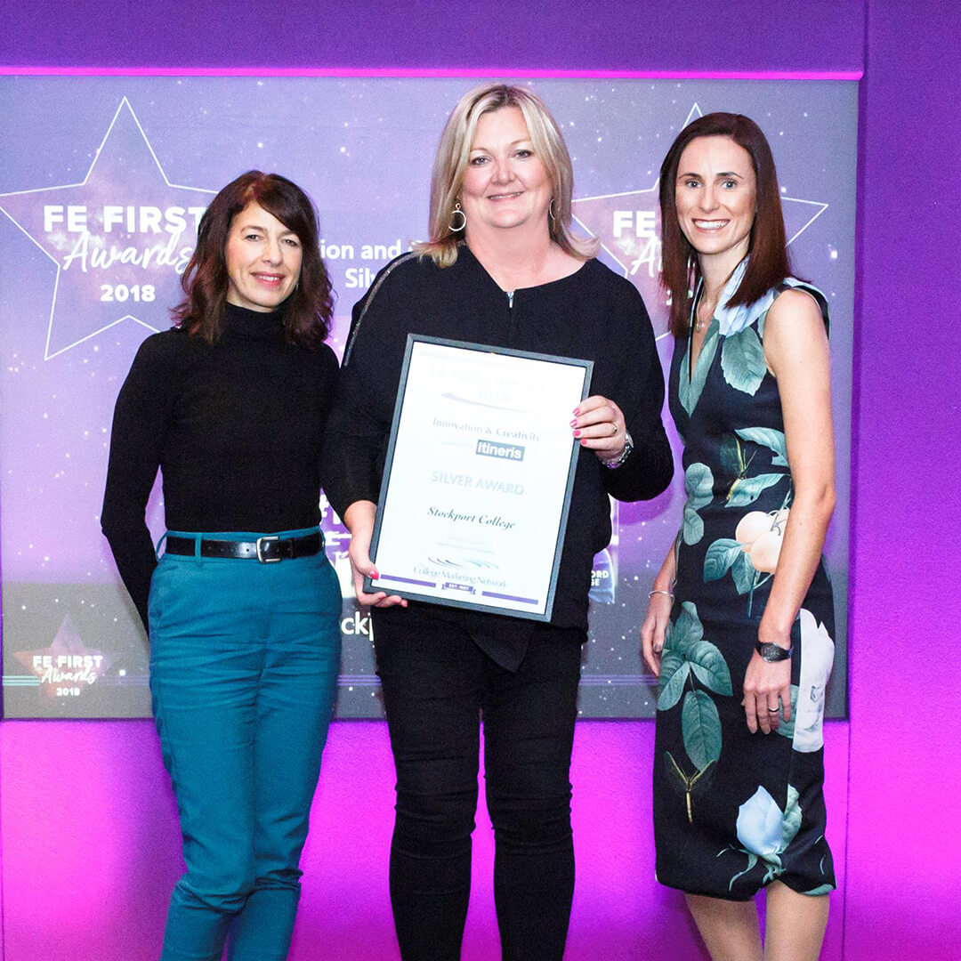Our #MoreMe campaign shines at FE First Awards
