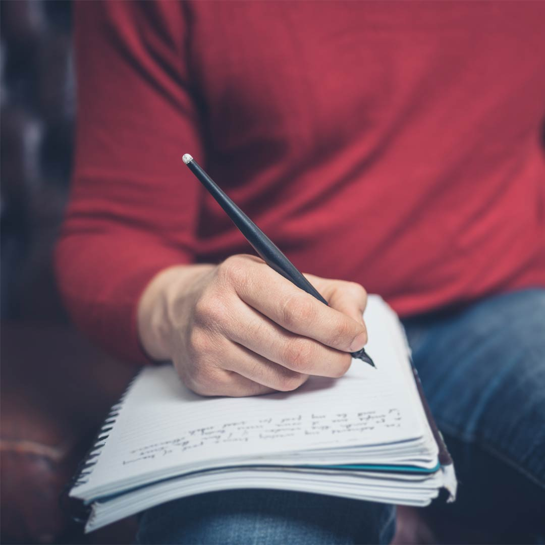 Five steps to becoming a great writer. OK, a better writer.