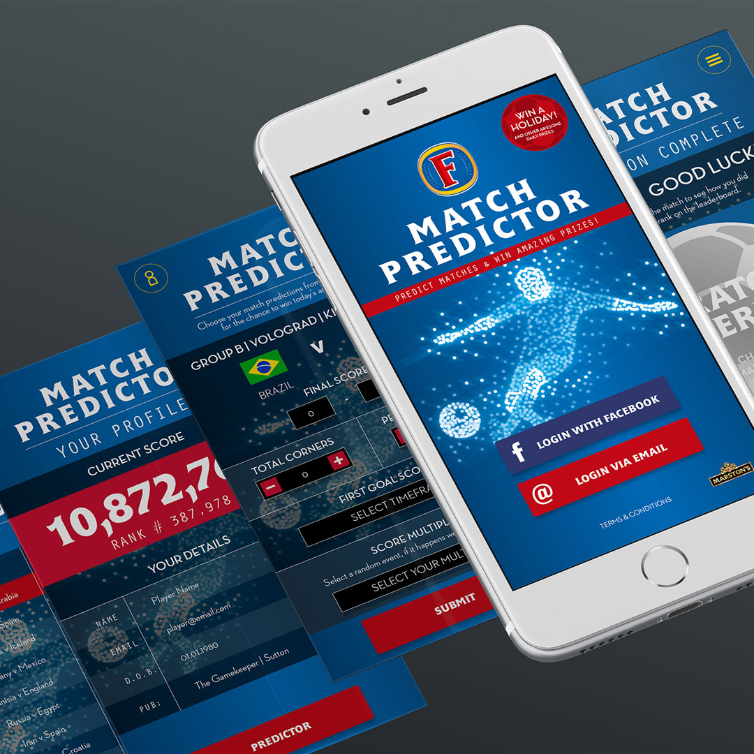 Big Brand Ideas and Trunk get World Cup fever with Marston's Match Predictor