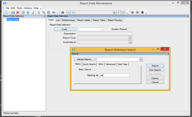 Ssrs Report In Epicor How To Modify An Out Of The Box Report