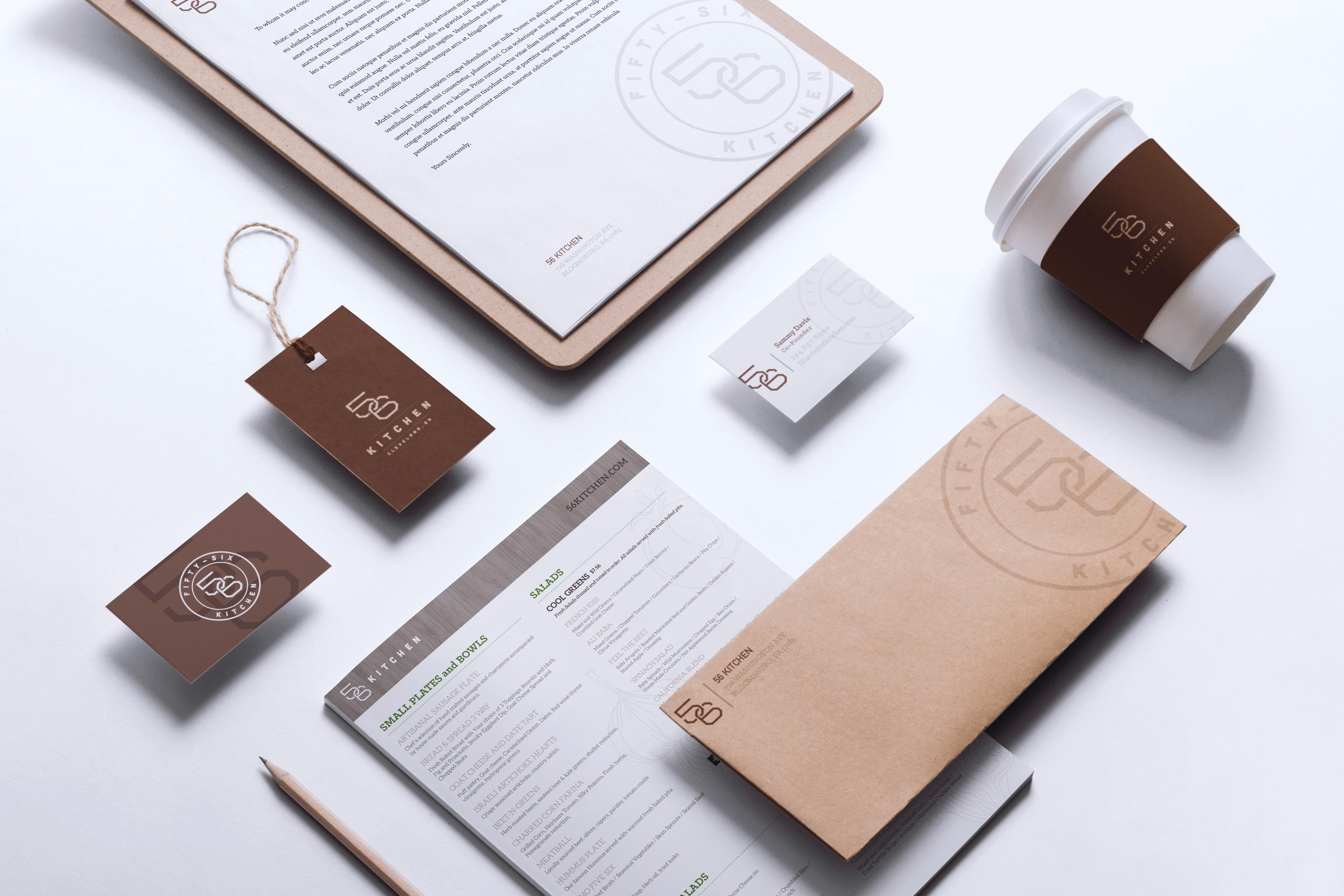 branded stationery set