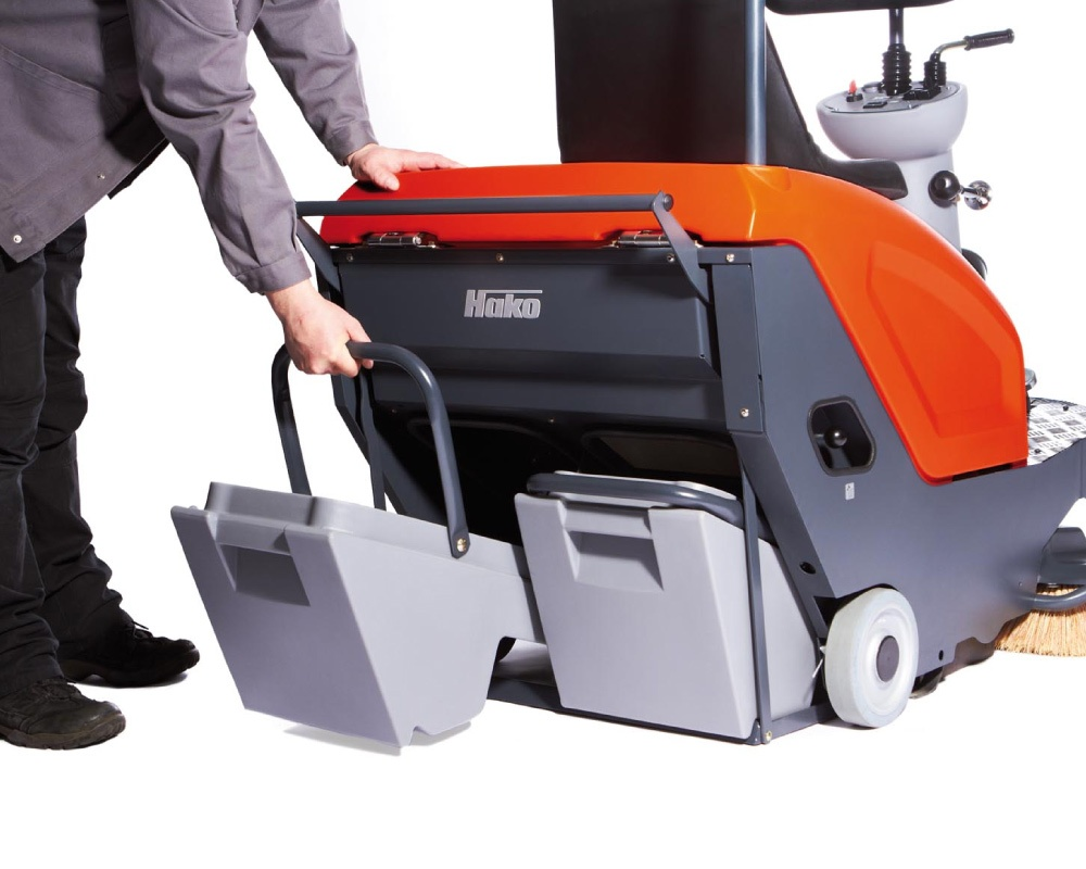 Sweepmaster B800 R Electric Industrial Floor Sweeper Or