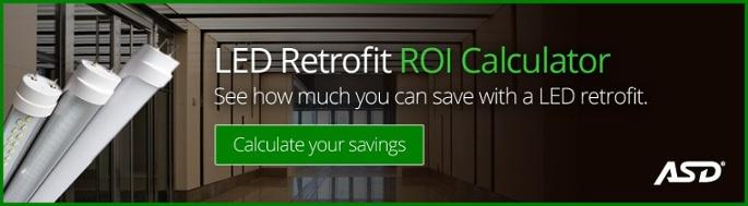 LED Retrofit ROI Calculator