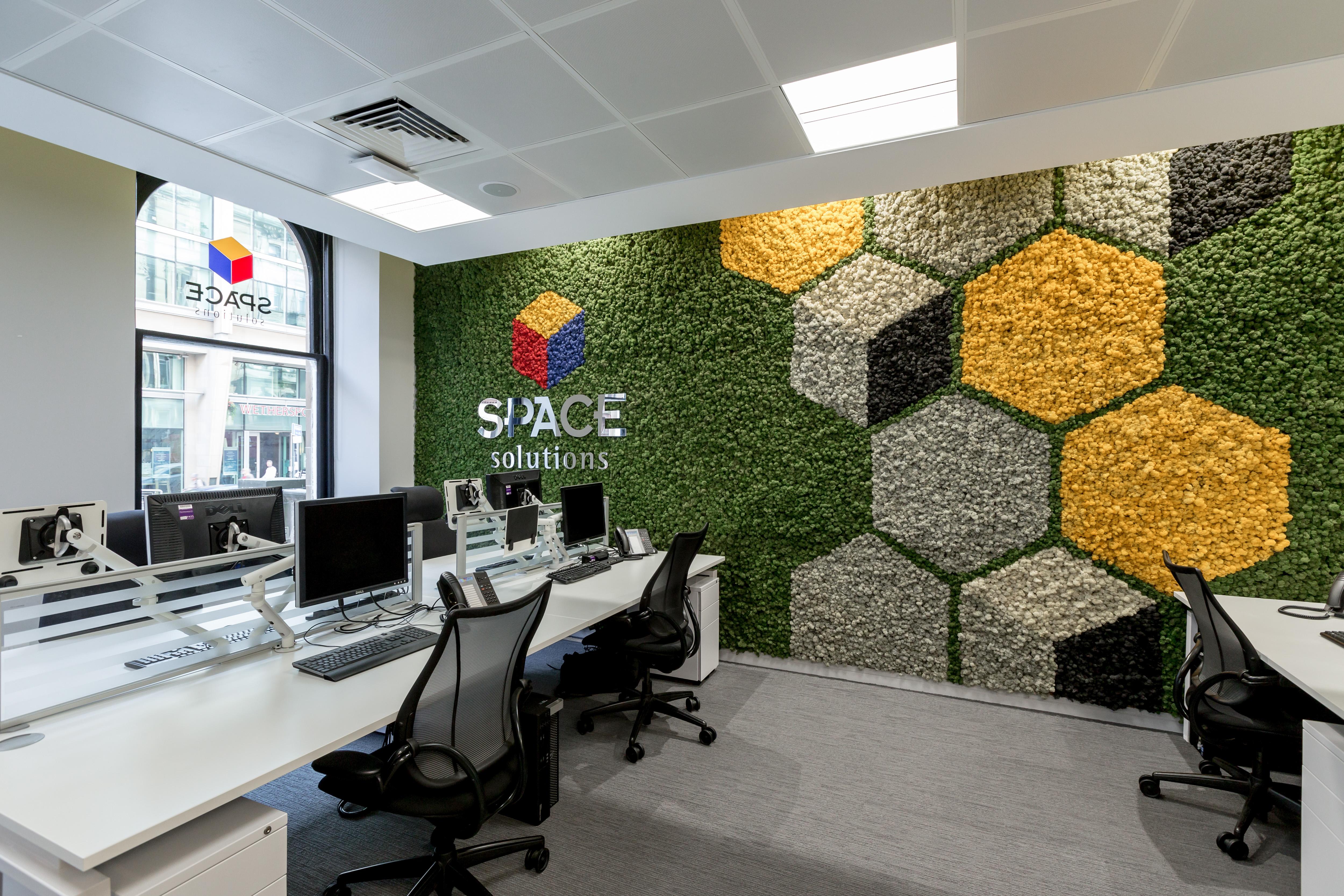 оформление стен офиса фото лондон англичанин небесными