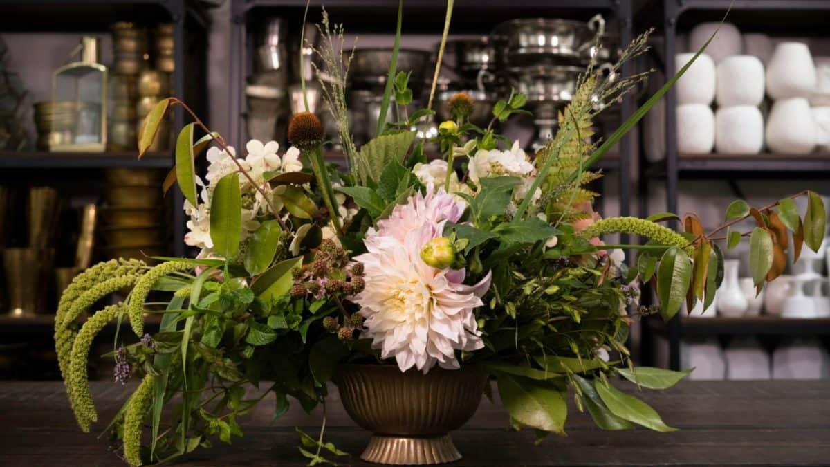 Mayesh En Español Arreglo Floral De Fin De Verano