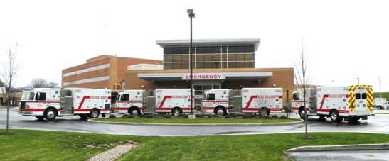All-in-one Ambulance, Rescue Vehicle, & Fire Truck