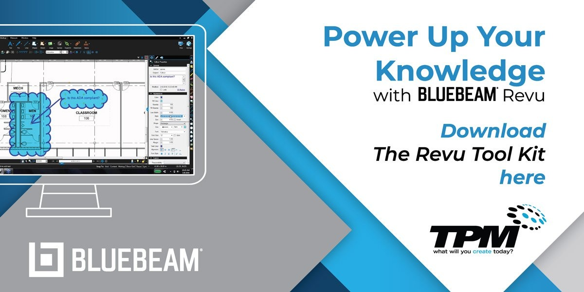 Bluebeam Revu Software & Support in SC and NC | TPM, Inc