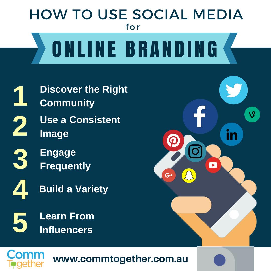 How To Use Social Media For Online Branding-1