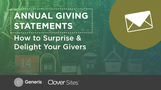 [Free eBook] Annual Giving Statements: Surprise & Delight Your Givers