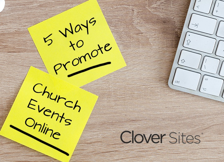 Five Ways to Promote Your Church Events Online