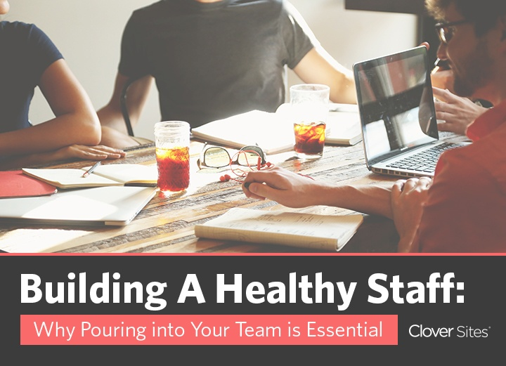 Building a Healthy Staff & A Healthy Church Website