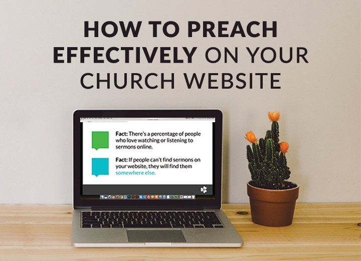 [Free On-Demand Webinar] How to Preach Effectively on Your Church Website