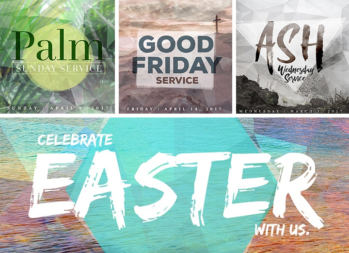 [Free Easter Graphics] Easter Service Image Giveaway