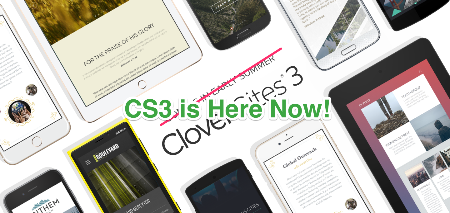 If You're Not Using Clover Sites 3 . . .You Should Be!